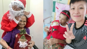 Staff bringing joy to patients at Christmas